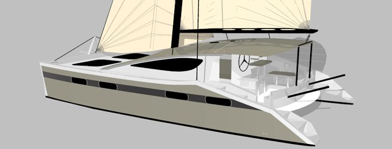 Cruising Catamaran Kits | Cruising Construction Plans | Synergy 38
