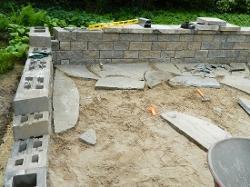 Wonderful Patio And Wall Stone Install Pittsford, NY Pic #4
